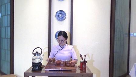 天晟茶艺培训第133期3号台湾十八道茶艺表演