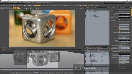 V-Ray for MODO – Physical Materials 物理材质