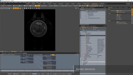 V-Ray for MODO – Render Elements 渲染元素