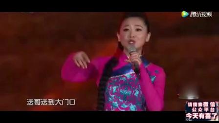 央视主持人月亮姐姐唱陕西民歌《走西口》太好听了.mp4