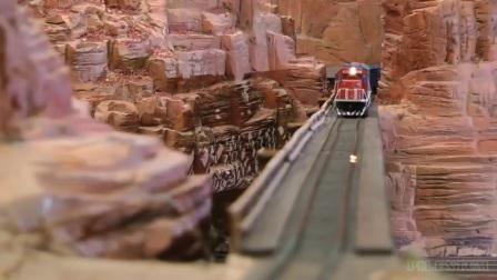 世界上最大的铁路模型 世界上最大的火车模型博物馆 世界上最大的火车铁路模型