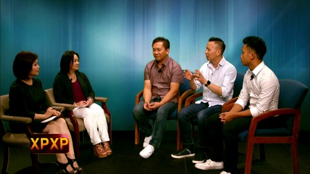 Padee and Maikou sit down with members of Paradise Band.