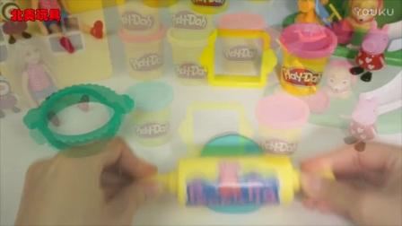 彩泥制作饼干蛋糕冰淇淋的儿童手工 236_高清