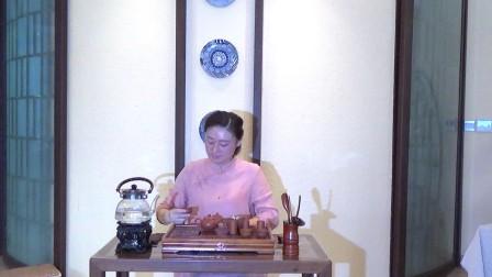 天晟茶艺培训第133期6号台湾十八道茶艺表演