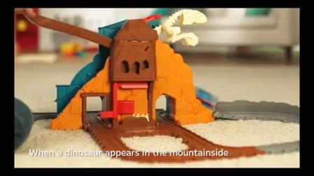 托马斯和他的朋友们Take-N-Play咆哮恐龙跑套装