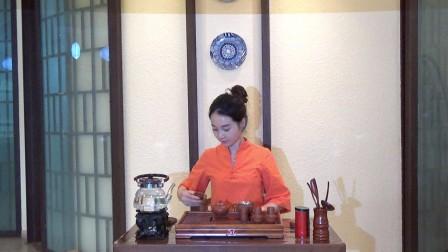 天晟茶艺培训第133期10号台湾十八道茶艺表演