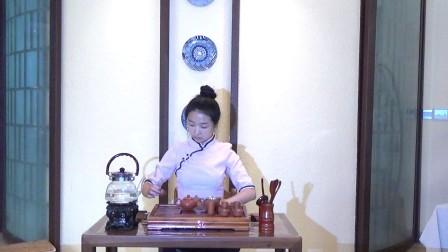 天晟茶艺培训第133期11号台湾十八道茶艺表演
