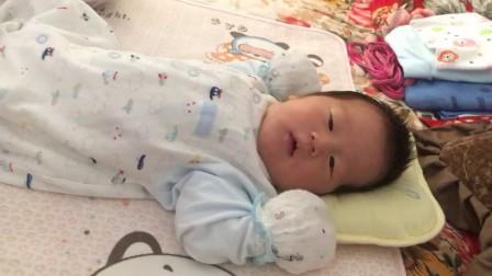 刘明轩刚睡醒