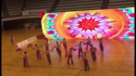 第七套健身秧歌第一名首届深圳市社会体育指导员技能大赛
