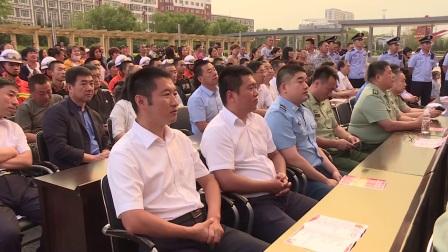 讷河市通江街道党工委庆祝建军90周年文艺晚会