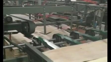 生态板自动化生产车间