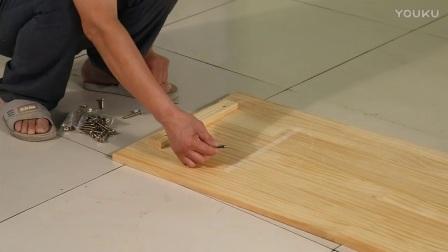 实木电脑桌带书架书桌书架组合家用台式写字桌松木学习桌现代简约