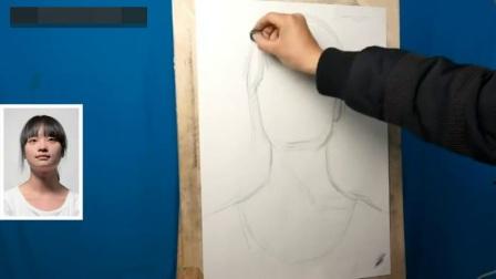 学习素描几何素描教学视频_素描教案_人物肖像素描教学视频色彩静物教学视频