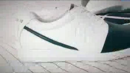 德途黑白配小板鞋