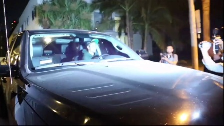 Justin Bieber 开车撞到人