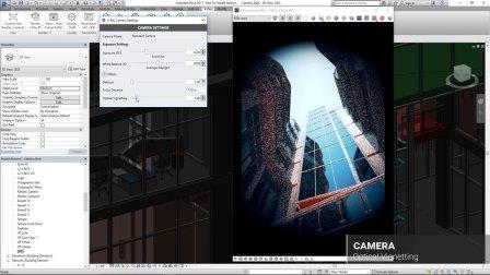 V-Ray for Revit – Camera Effects 写实的摄影机