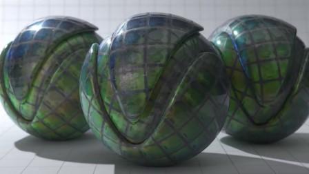 VRscans 材质库 – Holograms 反射 & 全息材质