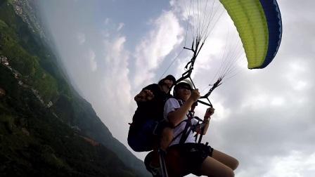 2017.8.3 智峰山滑翔伞飞行体验-1