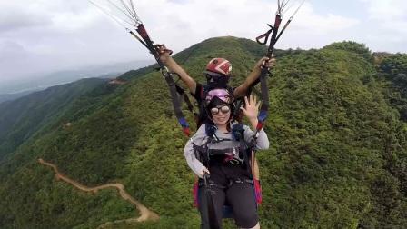 2017.8.3 智峰山滑翔伞飞行体验-2