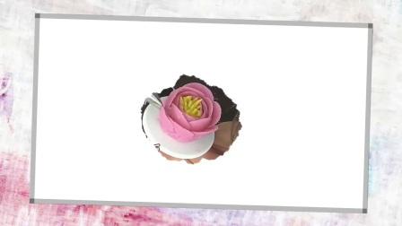 生日芭比娃娃新款蛋糕 配色造型装饰 蓝麦技术