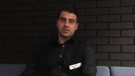 乔治欧在世界公开赛资格赛战胜奥沙利文的采访