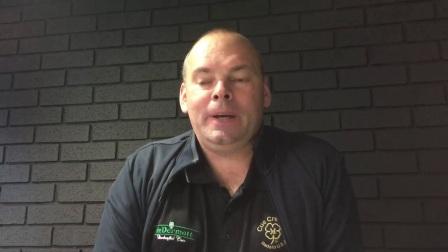 宾汉姆在欧洲大师赛战胜田鹏飞的采访