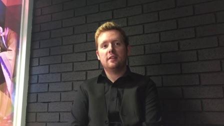 本·伍拉斯通在欧洲大师赛资格赛战胜伯恩斯的采访