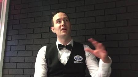 马丁·唐纳在欧洲大师赛资格赛战胜麦克劳德的采访