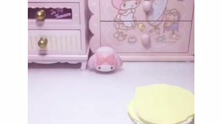【转载视频】【粘土蛋糕】芒果粘土蛋糕🍰