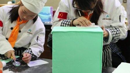 上海飞航国际美食学校  翻糖蛋糕培训3