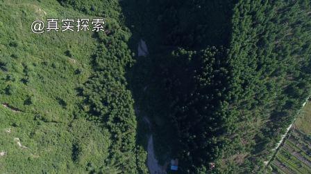 航拍渭河13:渭河源(一):太白山,甘肃省定西市渭源县