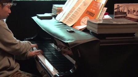 42、沈文裕演奏约翰汤普森现代钢琴教程第一册《青蛙合唱队》