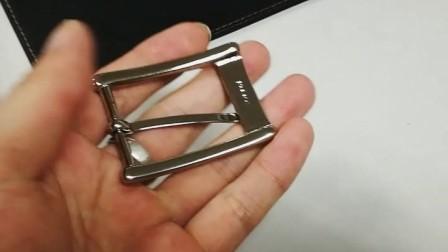 手工皮具专业材料店老约翰皮雕皮艺工场推荐优质黄铜正装皮带扣