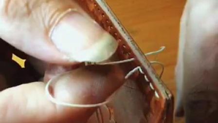 【老约翰皮雕皮艺工场】手工皮具入门 简单快乐的皮雕创作视频