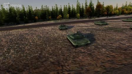 UNISOL 三维仿真地形 warfare1.0战场漫游