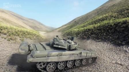 UNISOL 虚拟仿真 Tank demo