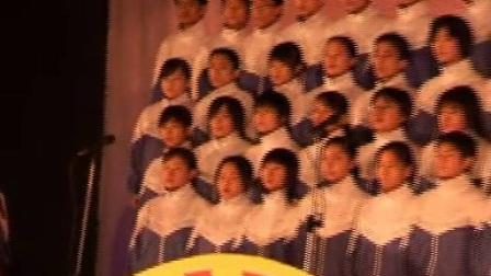 """淄博一中高2006级""""担负起天下的兴亡""""主题合唱比赛"""