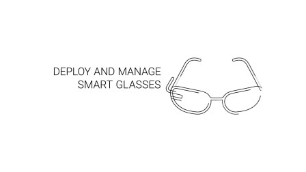 Smart Glasses Powered By BlackBerry UEM