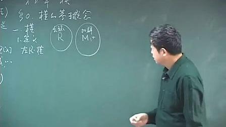 【抽象代数】顾沛 第5章 第0节 模的基本概念(1)