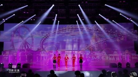 全息背景板互动演绎_儿童歌舞中国话_吾想创意