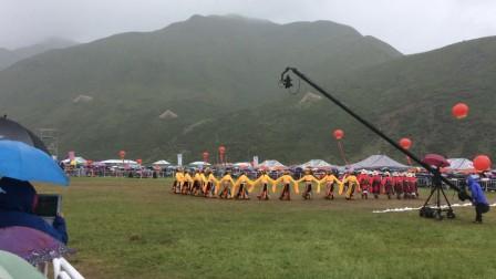 中国甘南碌曲锅庄舞大赛视频