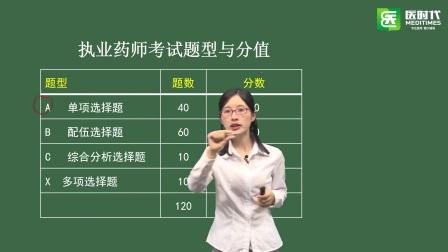2017执业药师资格考试考情分析及中药学专业知识一题型、知识点分布 华图名师姜雅