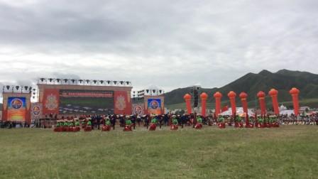 中国甘南碌曲第六届锅庄舞大赛视频
