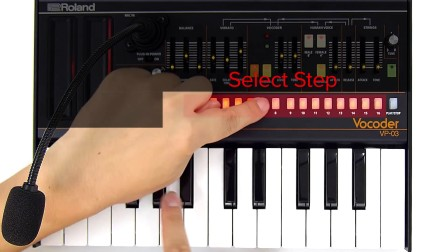 "VP-03 快速入门08:""Step Sequencer"""