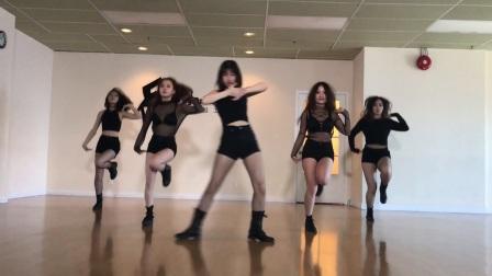 韩舞:Pristin -Black Widow 舞蹈练习 (天舞)溫哥華