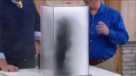 美国Alen空气净化器T500烟雾测试