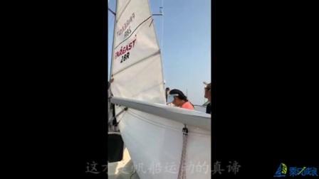 青岛帆船体验,看夕阳西下的黄昏美丽,感受乘风破浪的运动真谛