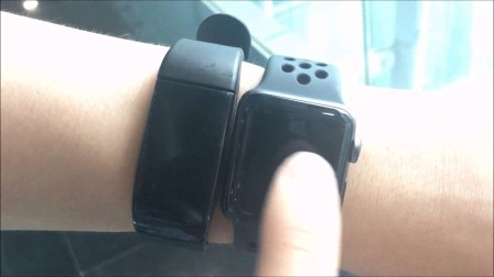 测试视频--步数精准度测试 Skytech FTL-E08 with WBD101 Mogo™ & Famous Watch in the market
