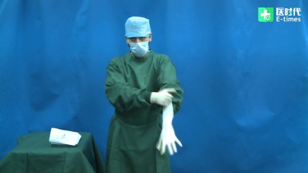 2017年执业医师资格考试:医师技能考试穿脱手术衣真人演示 考生易犯错误 考官易提问题