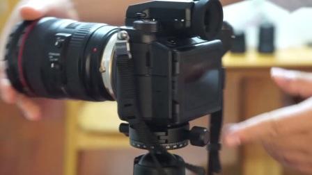 无忌光与影的 EF/GFX  全自动智能镜头转接环